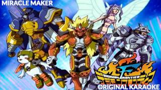 Digimon Frontier Miracle Maker Original Karaoke