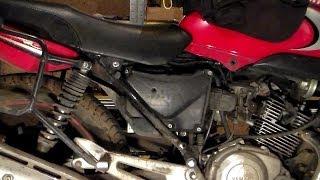 как сделать воздушный фильтр на мотоцикл