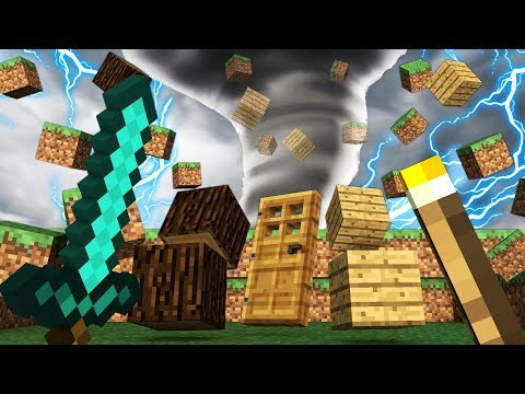REALISTIC TORNADO IN MINECRAFT | Minecraft - Mod Battle Challenge
