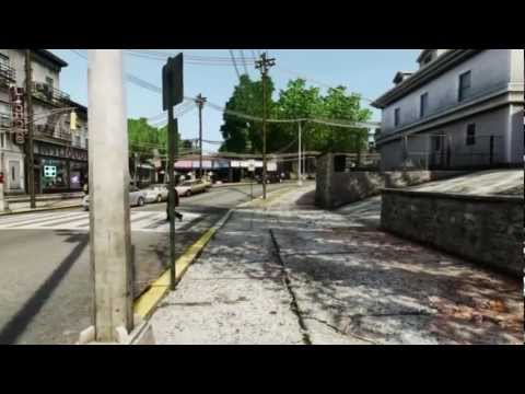 Walking and driving around in New Jersey, GTA IV & ICEnhancer