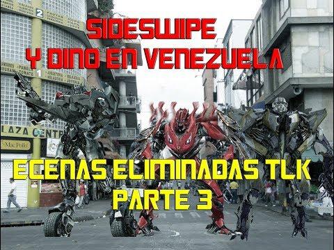 Sideswipe,Dino,Air Raid EN VENEZUELA! ECENAS ELIMINADAS TLK PARTE 3