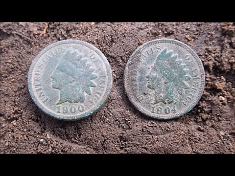Thumbnail: Metal Detecting For Coins And Relics