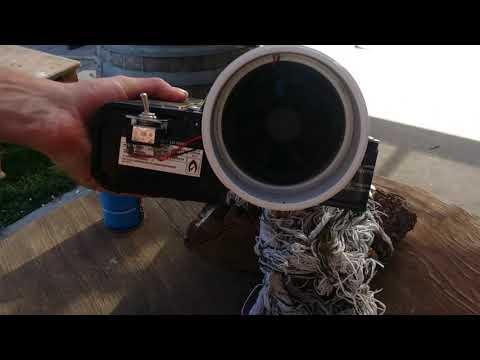 Potato Gun / Fishing Canon Concept Test Fire Mk1
