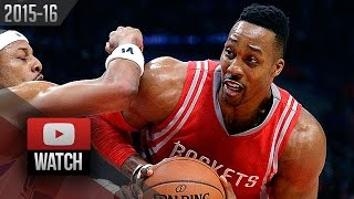 Dwight Howard Full Highlights at Clippers (2016.01.18) - 36 Pts, 26 Reb, MONSTER!