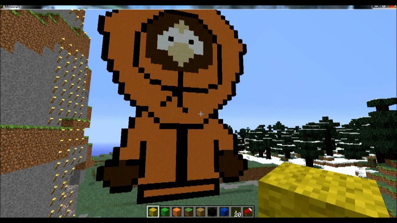 Minecraft South Park Kenny
