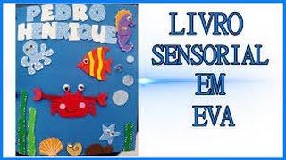 Livro Sensorial Em EVA