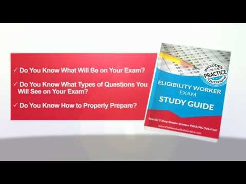 Eligibility Worker Exam Study Guide - Test Preparation ...