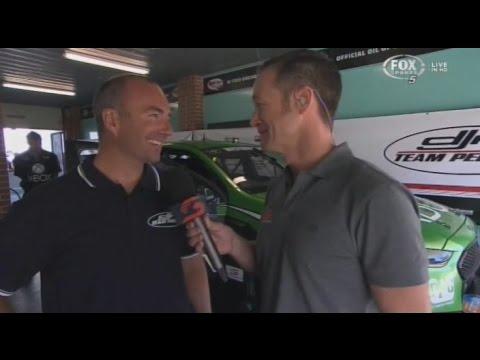 2015 V8 Supercars - SuperTest - Marcos Ambrose & Greg Murphy Interview