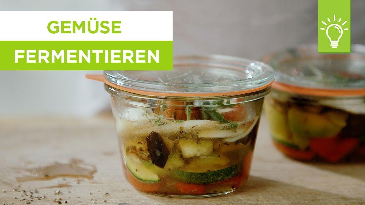 Bohnen fermentieren