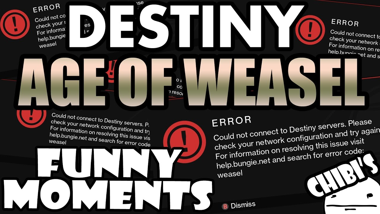 destiny funny moments ep.56 age of error code weasel! age of