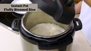 Instant Pot Perfect Fluffy White Rice ~ Pressure Cooker Rice ~ Amy Learns to Cook