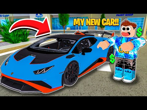 *NEW EASTER UPDATE* I BOUGHT THE NEW LAMBORGHINI HURACAN STO IN CAR DEALERSHIP TYCOON!!!
