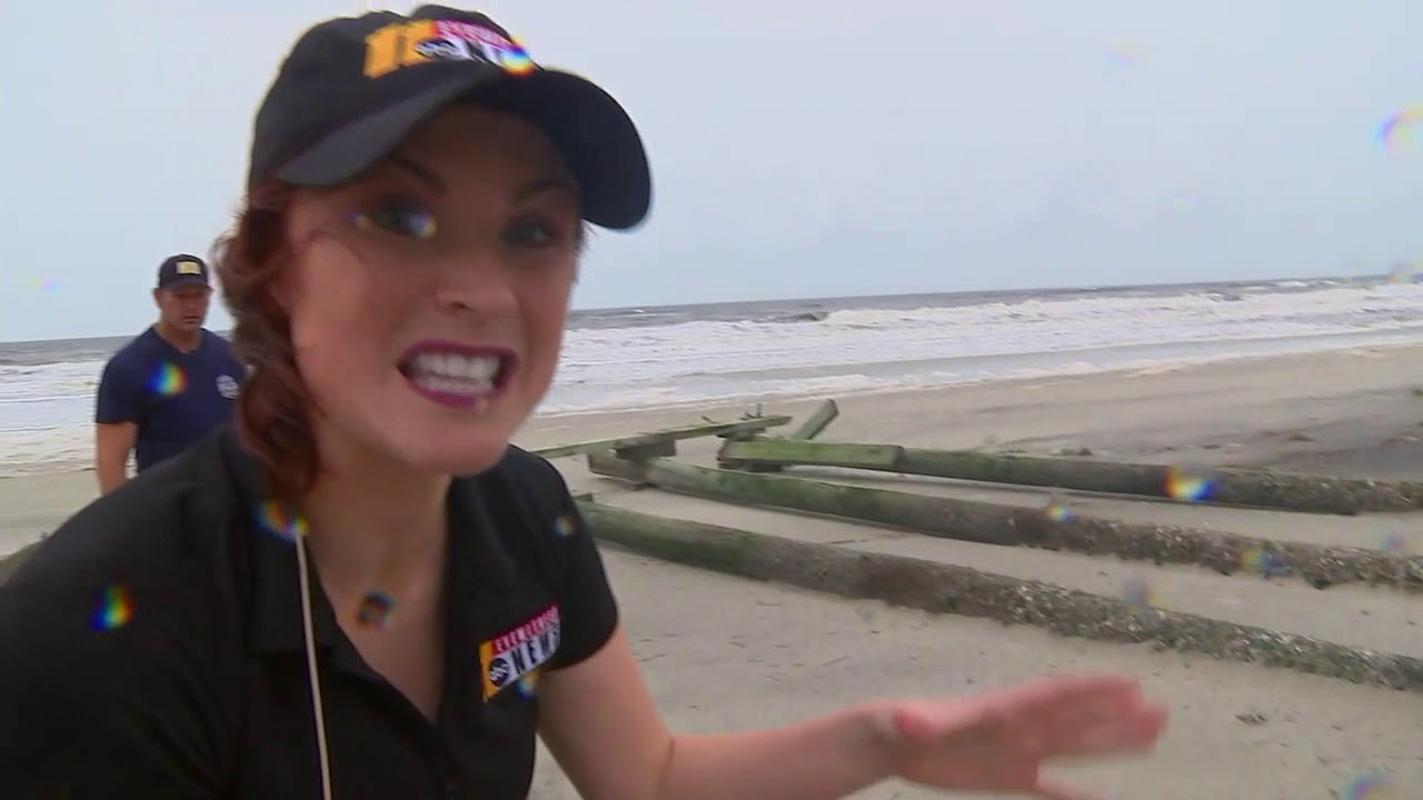 First look at Hurricane Florence damage at Atlantic Beach