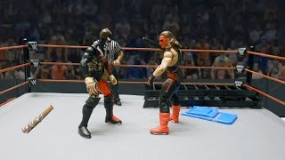 Finn Bálor vs. Sting: Action Figure Showdown
