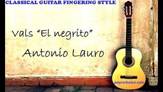 Vals El Negrito - Antonio Lauro