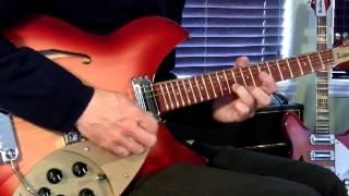 "The Jam: ""Going Underground"" on Rickebacker Model 1997 & Vox AC30"