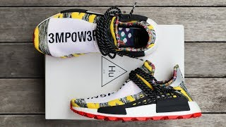 "ADIDAS PW SOLAR HU NMD ""YELLOW"" 