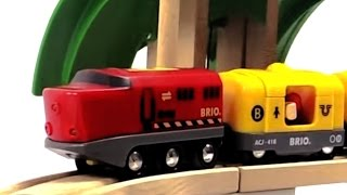 Trenes - Coches para niños - Carritos para niños - Trains for kids in Spanish