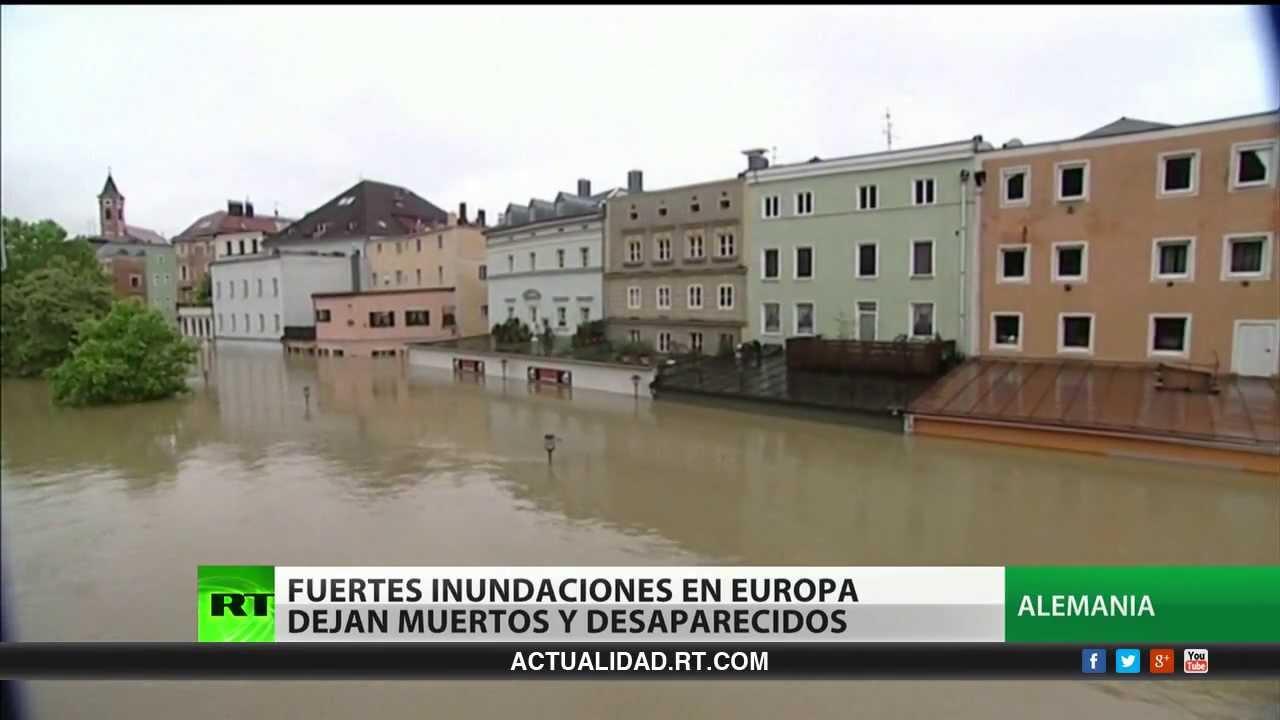Fuertes Inundaciones En Europa Dejan Muertos Y