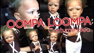 DIY Oompa Loompa Costume | Halloween Costume Idea for Children and Toddlers