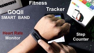 GOQII Fitness Smart BAND getting started with screenshot 2