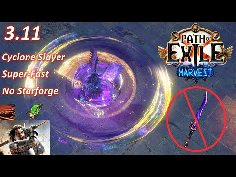 Path of Exile 3.11 - Impale Cyclone Slayer build (No Starforge) - PoE Harvest