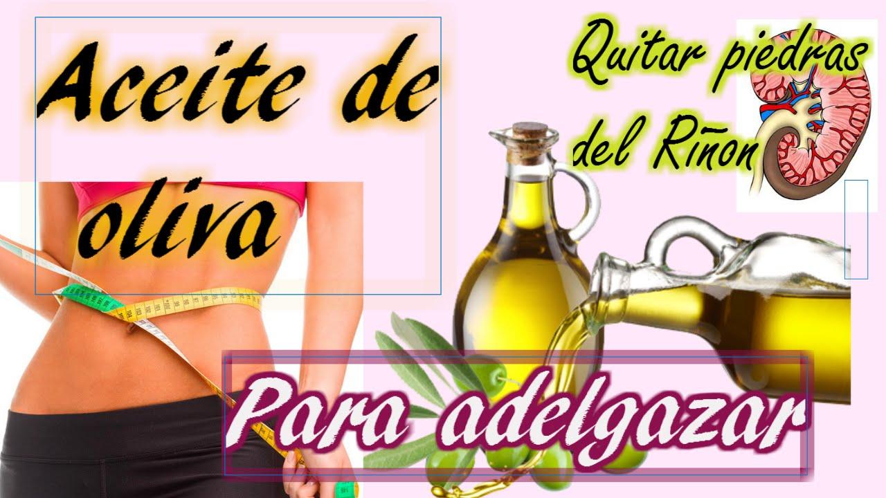 El aceite de oliva te ayuda a adelgazar