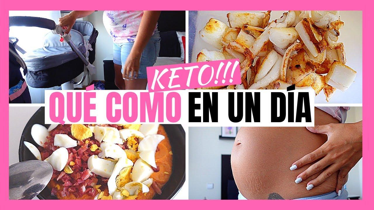 🦀 QUE COMO EN UN DIA KETO EMBARAZADA 🤰🏻 dieta cetogenica y ayuno intermitente 🥑 semana 21