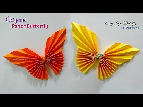 Paper Butterfly || How To Make Paper Butterfly Origami