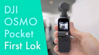 DJI Osmo Pocket Hands-on First Lok