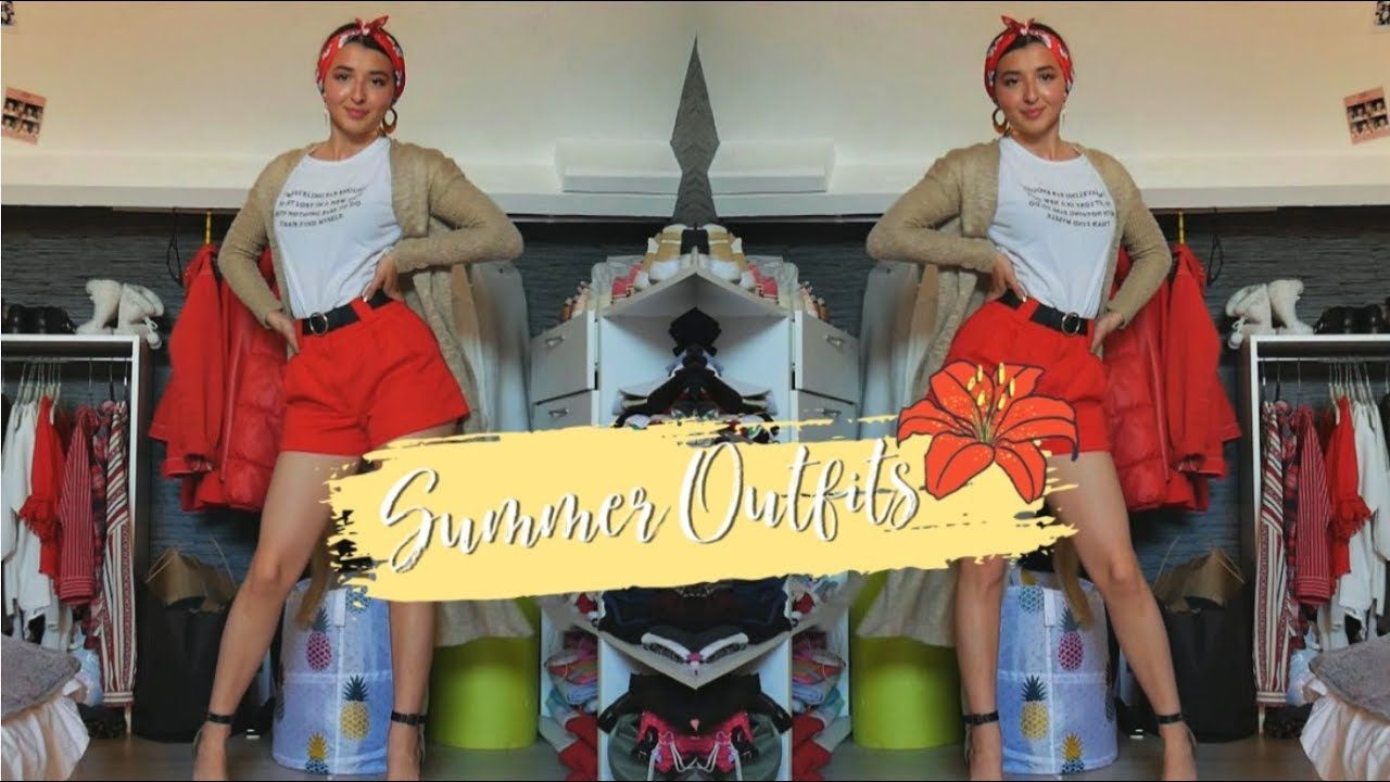 ☼ 3 SUMMER OUTFITS ☼ WhiteRed