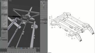 Farming Simulator 2015:  Building in Blender