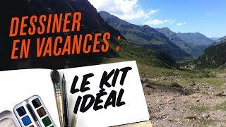Le Kit Vacances Idéal Pour Dessiner