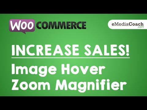 WordPress WooCmmerce - INCREASE SALES -  Image Hover Zoom Magnifier Plugin