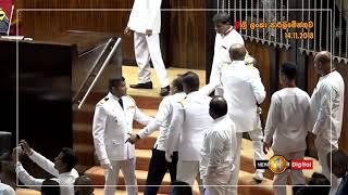 Fight in Sri Lanka Parliament   MP