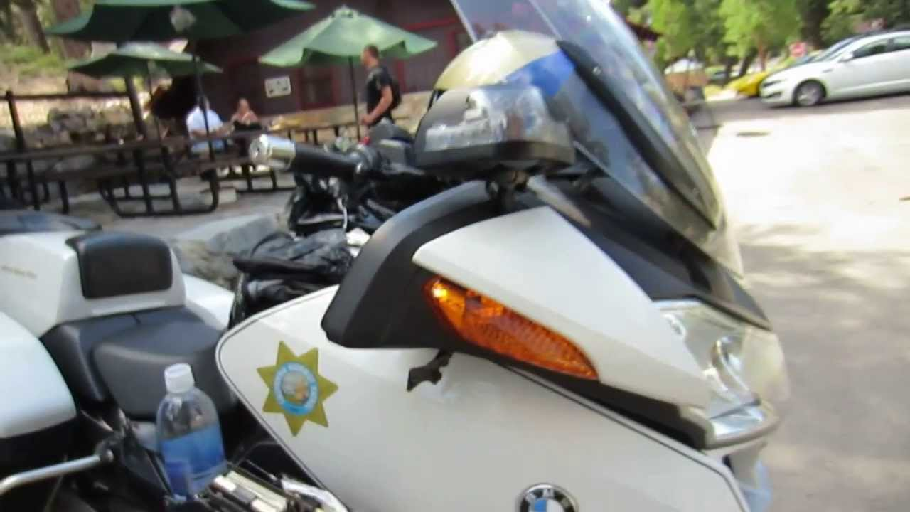 Bmw Motorcycle Police Bike California Highway Patrol