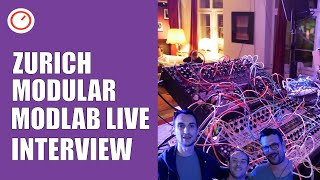 Modlab Live Modular Synthesizer Setup | Zurich Modular 2019 | SYNTH ANATOMY
