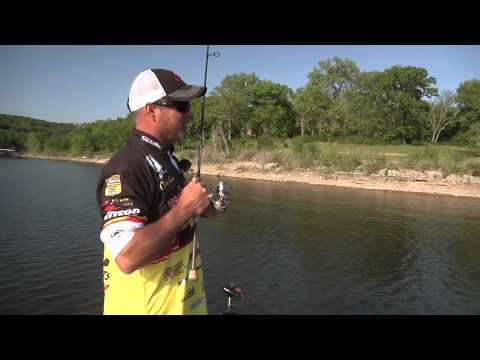 Fishing A Shakeyhead With Jeff Kriet At Table Rock Lake - Tackle Warehouse VLOG #199