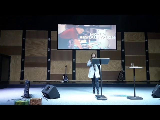 Modo restauración - Pastora Elisa Touzet