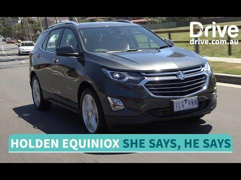 2017 Holden Equinox LTZ-V She Says, He Says Review   Drive.com.au - Dauer: 6 Minuten, 1 Sekunde