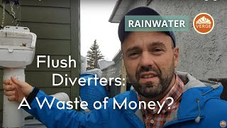 Rainwater Harvesting: First Flush Diverters A Waste Of Money?