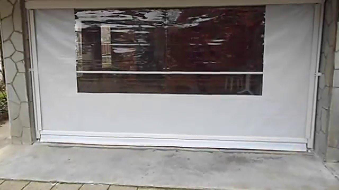 Tende Veranda Trasparenti : Tenda veranda invernale con motore elettronico e finestra in