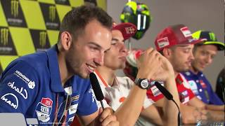 FULL Post Qualification Press Conference Motogp Brno 2018