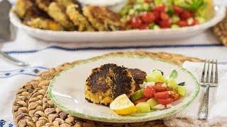 Greek Bean Fritters: Fasoulokeftedes