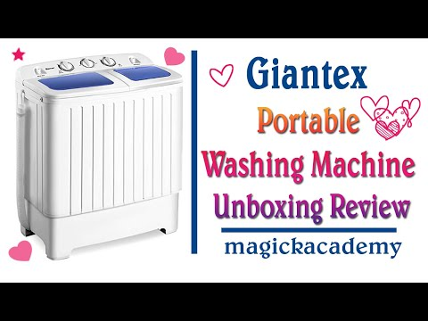Giantex Portable Washing Machine Unboxing Review, COSTWAY WASHING MACHINE