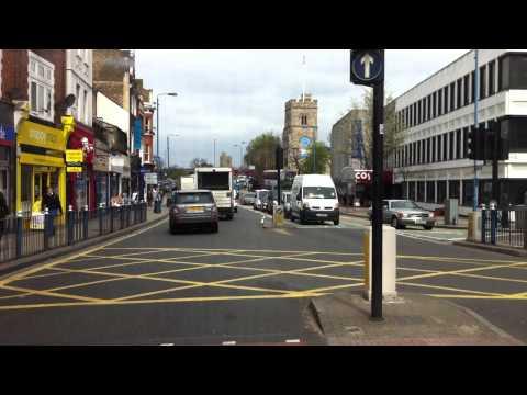 London streets (336.) - Wimbledon - Putney - Hammersmith - North Kensington