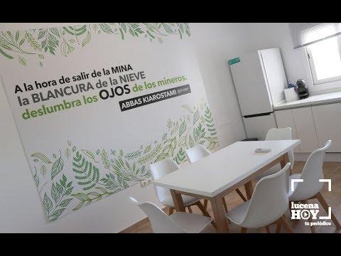VÍDEO: El Vivero de Empresas de Lucena abrirá sus puertas en breve. Te mostramos sus instalaciones