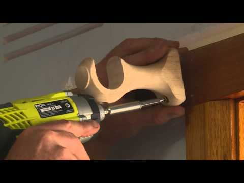 How To Install Curtain Rods - DIY At Bunnings