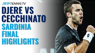 Laslo Djere vs Marco Cecchinato | Sardinia Open 2020 Final Highlights