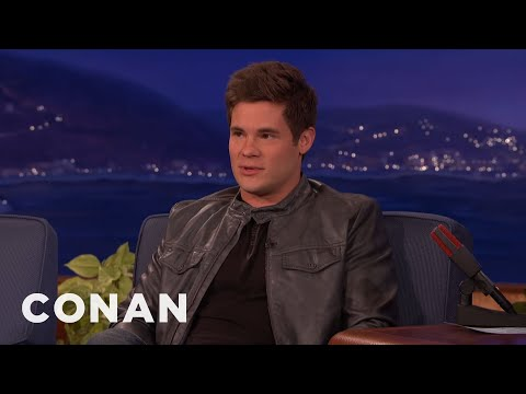 Adam DeVine Shares His Vocal Warm-Ups With Conan - CONAN on TBS